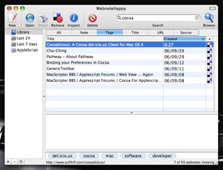 WebnoteHappy:検索中